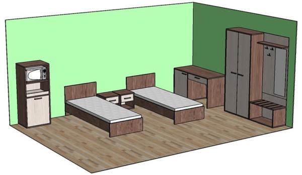 Бриз. Мебель для гостиниц.