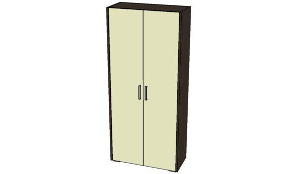 Шкаф раздевальный комбинированный ШК-02-ТММ