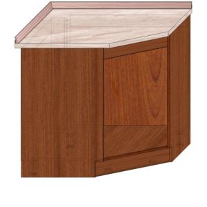 Угол Кухонные модули под столешницу