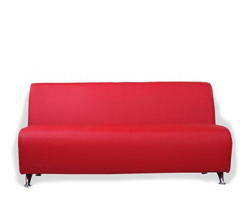 Интер хром. 3-местный диван