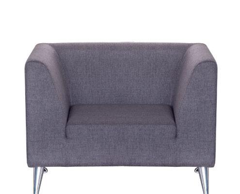 Кресло УЛЬТРА рогожка Moderno (баклажан)