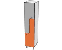 Шкаф для развевалки L-образный