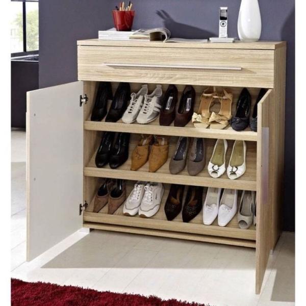 шкаф с полками для обуви