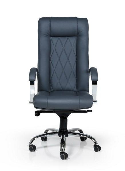 кресло офисное легенда хром