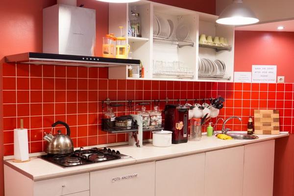 кухня мебель для хостела