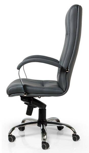 кресло офисное пунто хром