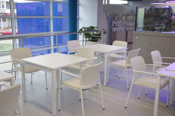 столы и стулья кафе