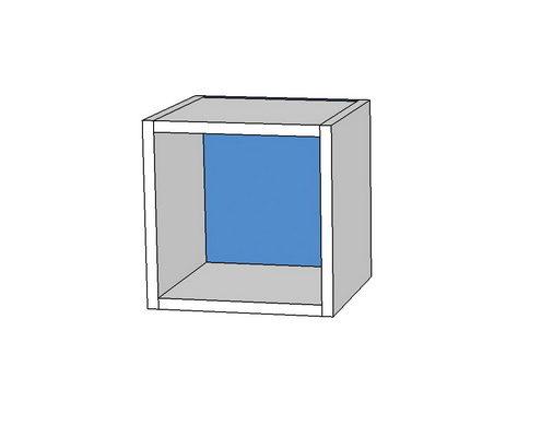 полка кубик 350х250х350