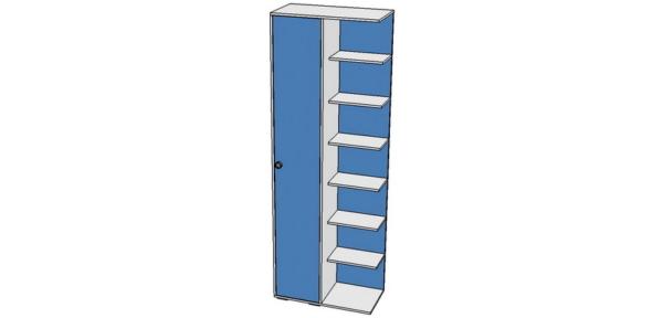 Шкаф-стеллаж 800х400х2100