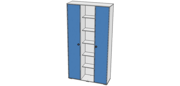 Шкаф-стеллаж 120х400х2100