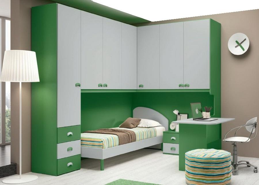 мебель в детскую зеленая