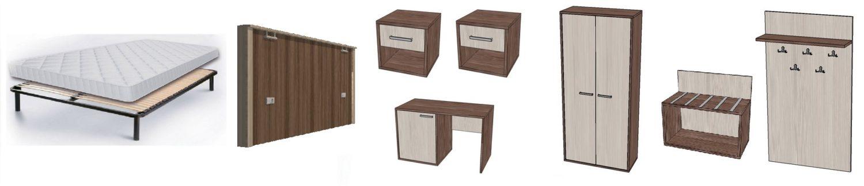 набор мебели для гостиницы БРИЗ