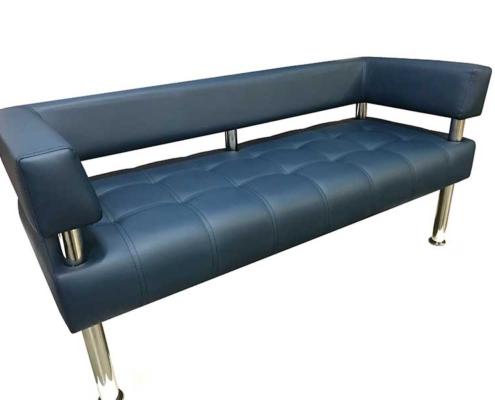 Диваны и кресла «БИЗНЕС» хромированный каркас